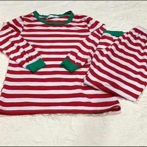 Intimates & Sleepwear - Women's striped Christmas pajama set!!🎄